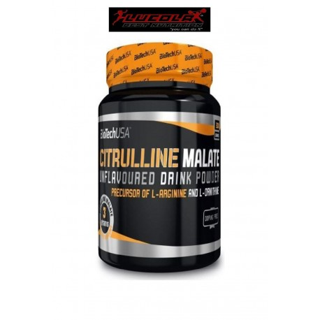CITRULLINE MALATE 300GR BIOTECH USA