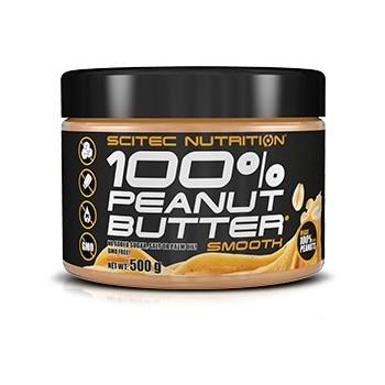 100% PEANUT BUTTER SMOOTH...